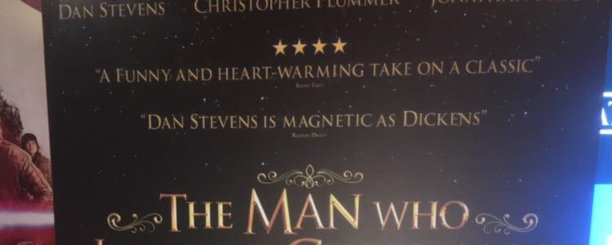 The Man Who Invented Christmas is now in Cinemas Nationwide
