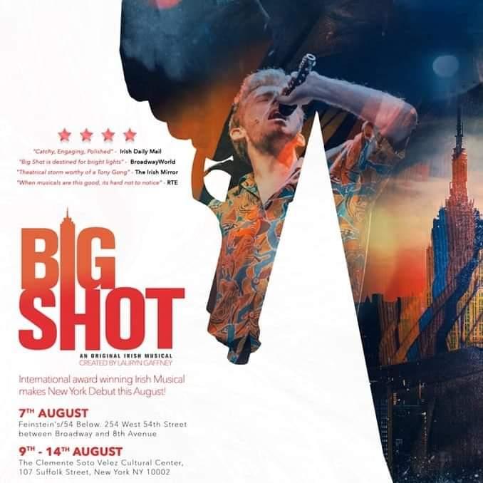 Big Shot Debuts Tonight Off Broadway