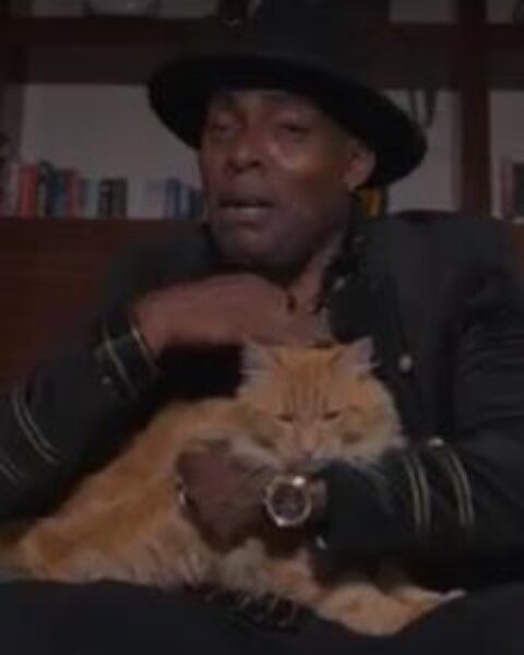 Coolio & Patches The Cat